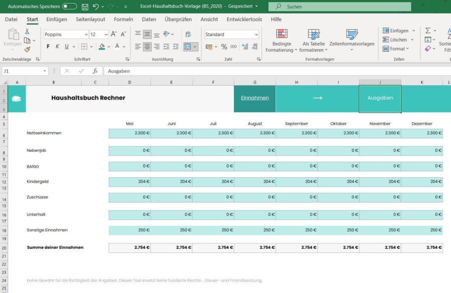 excel-haushaltsbuch-vorlage-einnahmen
